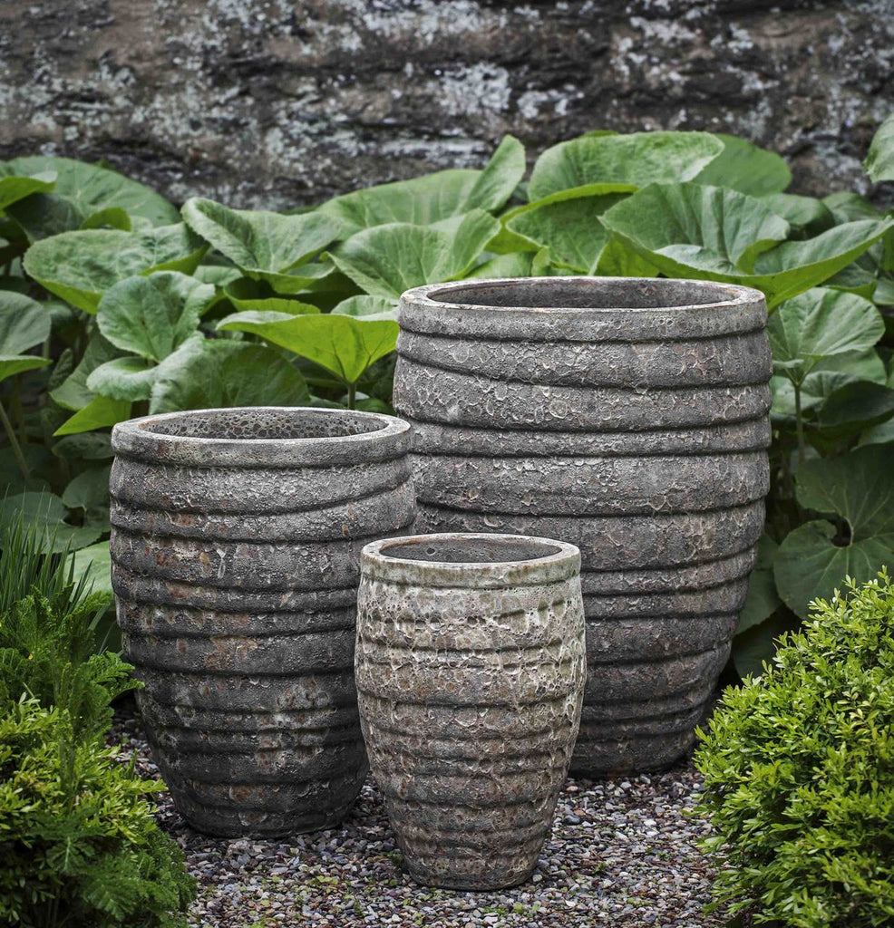 Guaracha Planter - Set of 3 in Angkor Grey