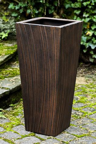 Square Rio Planter - Rust Lite