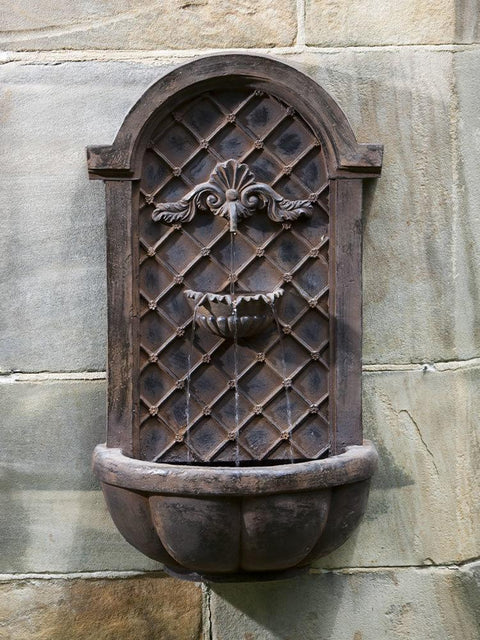 Cambridge Wall Fountain English Iron