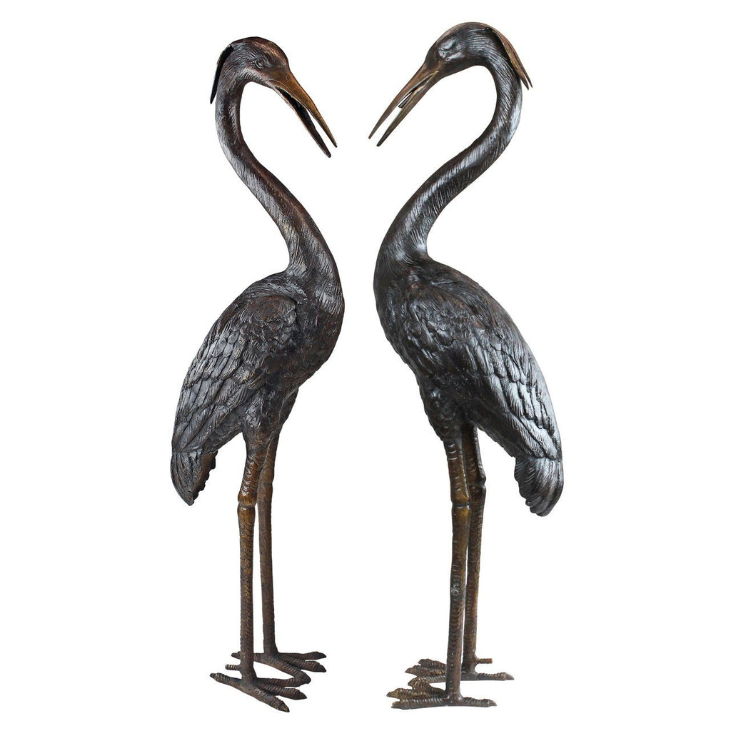 Medium Herons - Set of Two