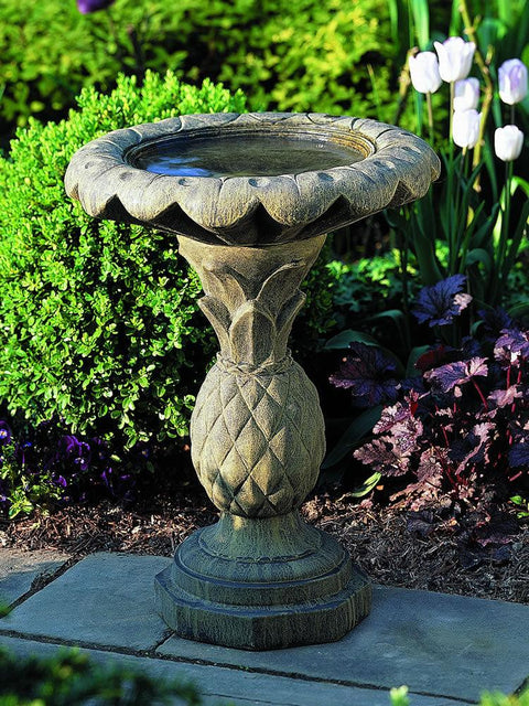 Pineapple Bird Bath