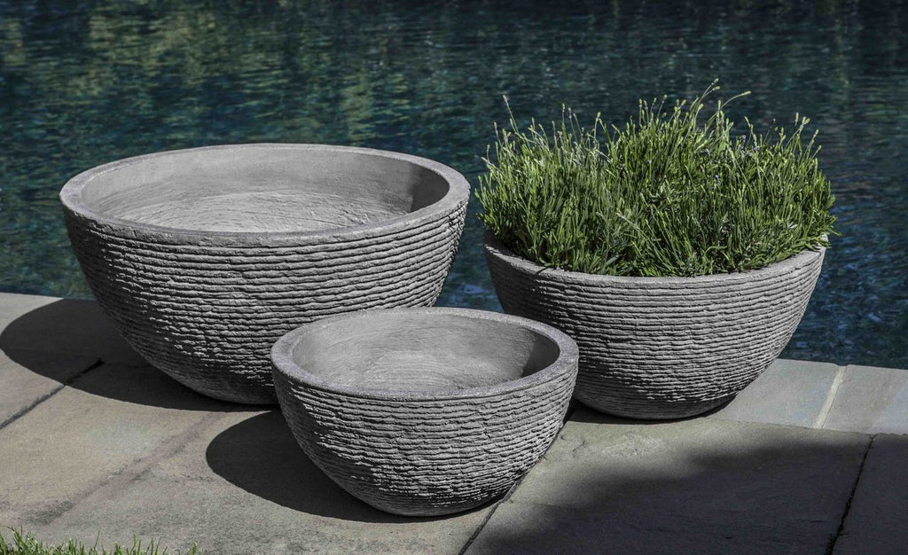 Stone Ledge Bowl - Set of 3 in Stone Ledge