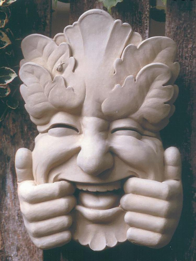 Silly Face Garden Plaque