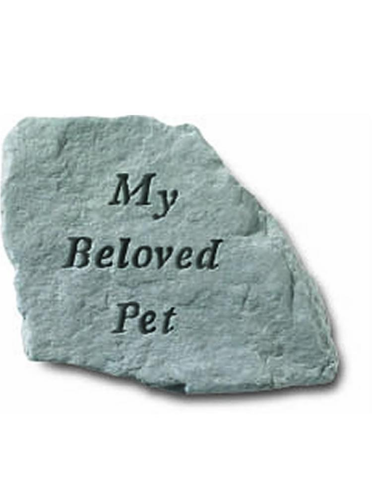 My Beloved Pet Stone Plaque