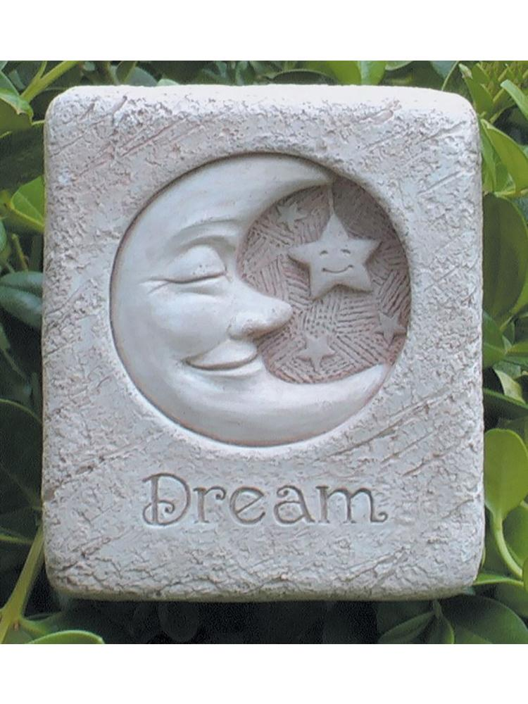 Mini Dreamin' Moon Garden Stone/Plaque