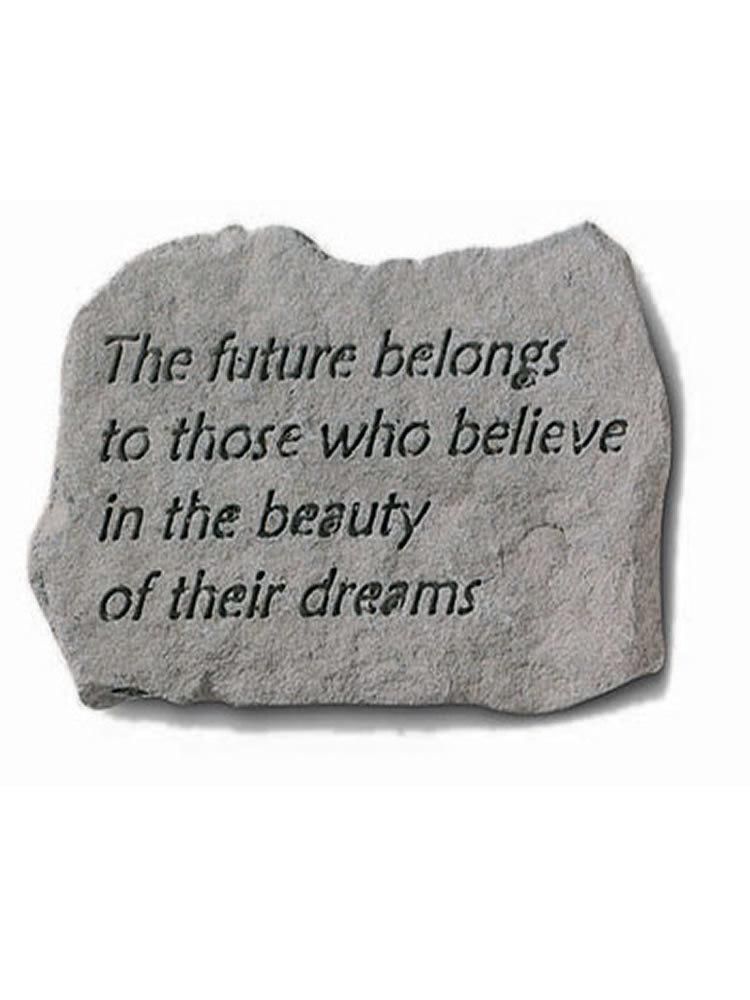 The Future Belongs Mini Garden Stone/Plaque