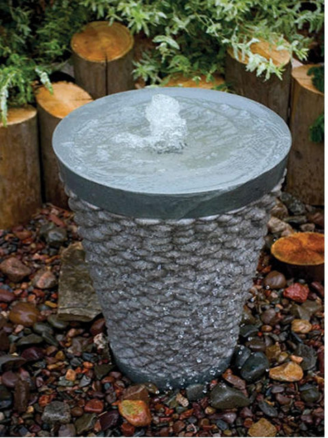 Pebble Table Fountain