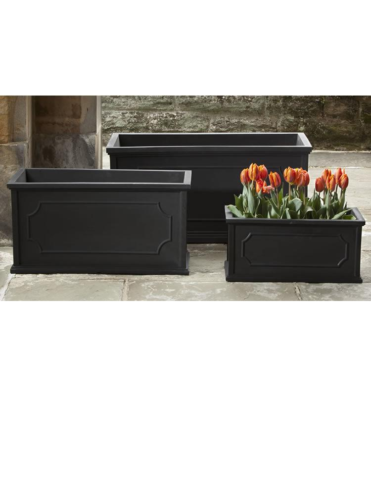 Hampshire Poly Window Box Set in Black