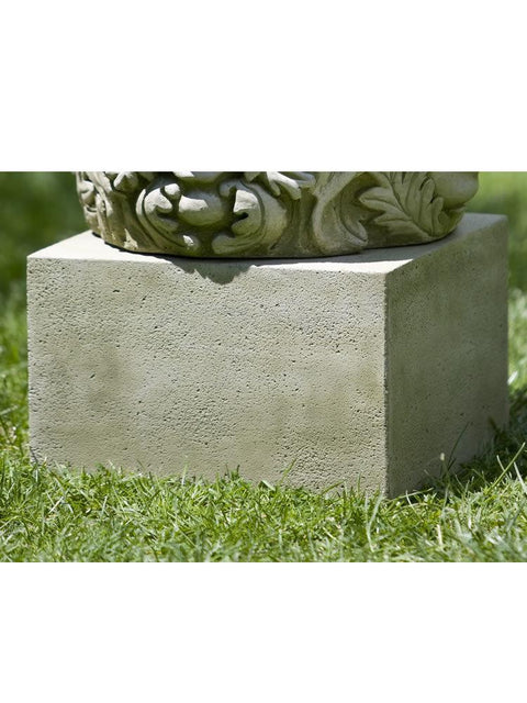 Textured Small Low Square Pedestal