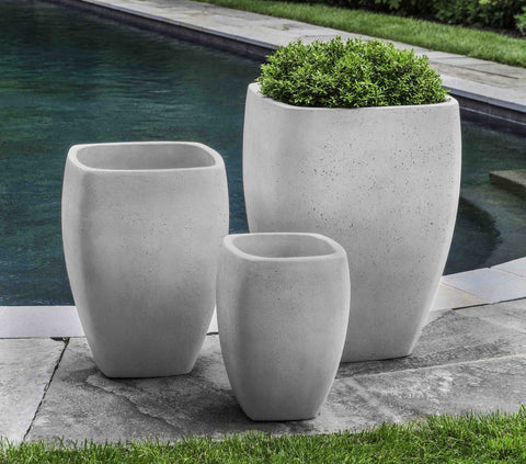 Cedros Planter - Set of 3 in Playa Blanca