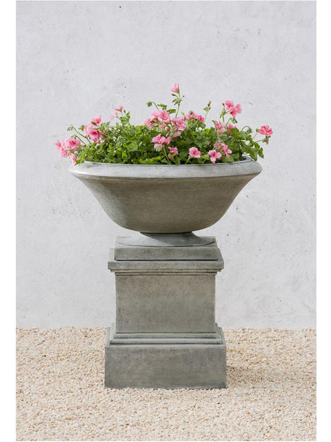 Maywood Urn on Glenview Pedestal