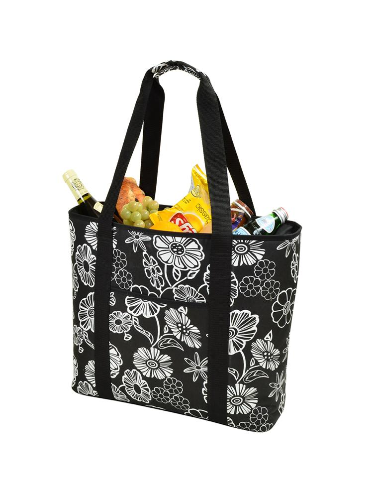 Large Cooler Tote - Night Bloom
