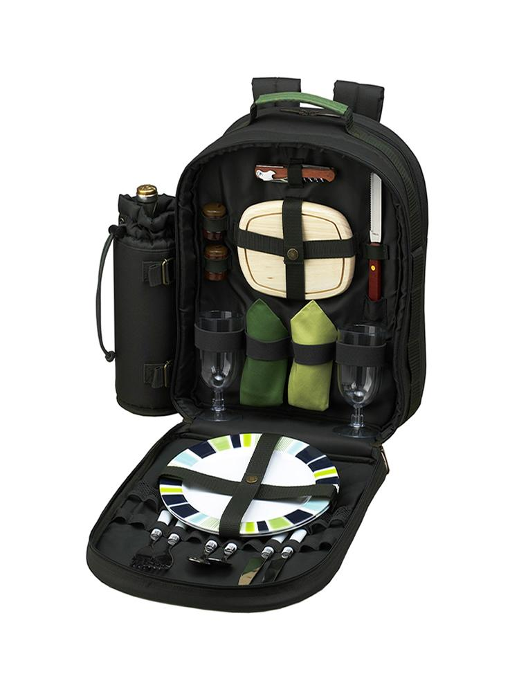 Eco Picnic Backpack for Two
