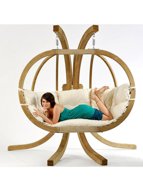 Globo Double Chair Natural