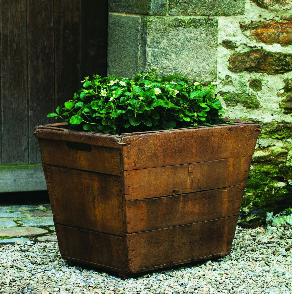 Set of 2 Vendange Large Planters with FREE Plants