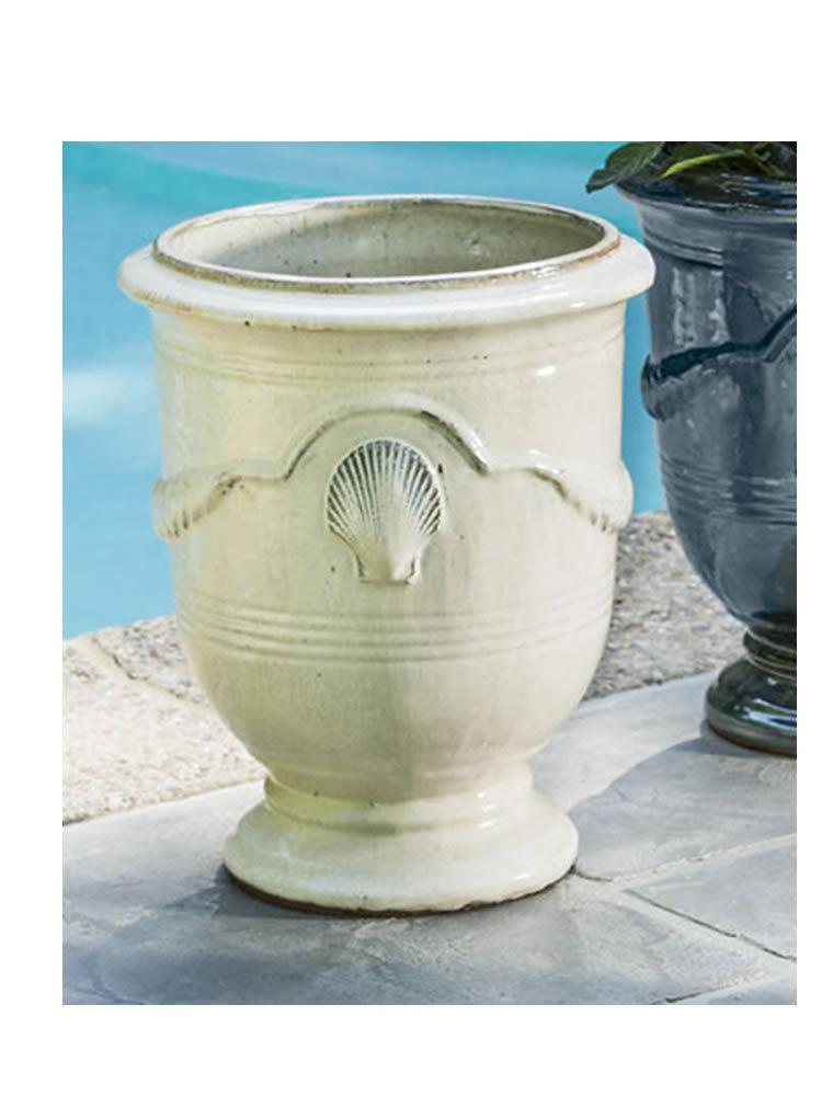 Cote d'Azur Planter in Antique Cream
