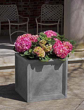 Sandhurst Square Planter  - Lead Lite