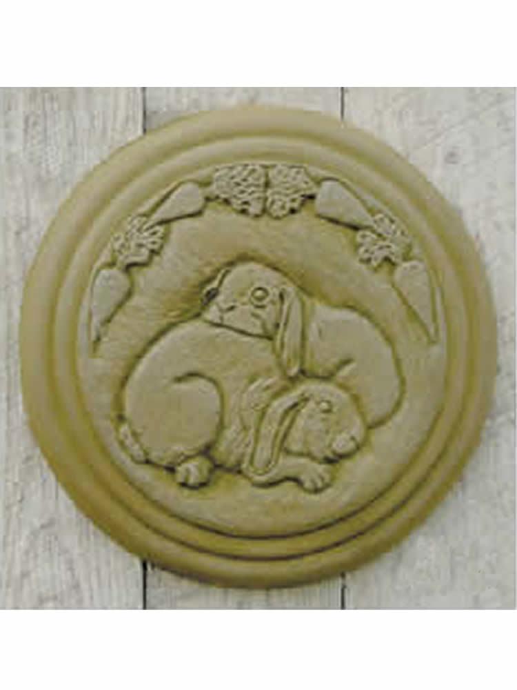Bunny Stepping Stone/Wall Plaque