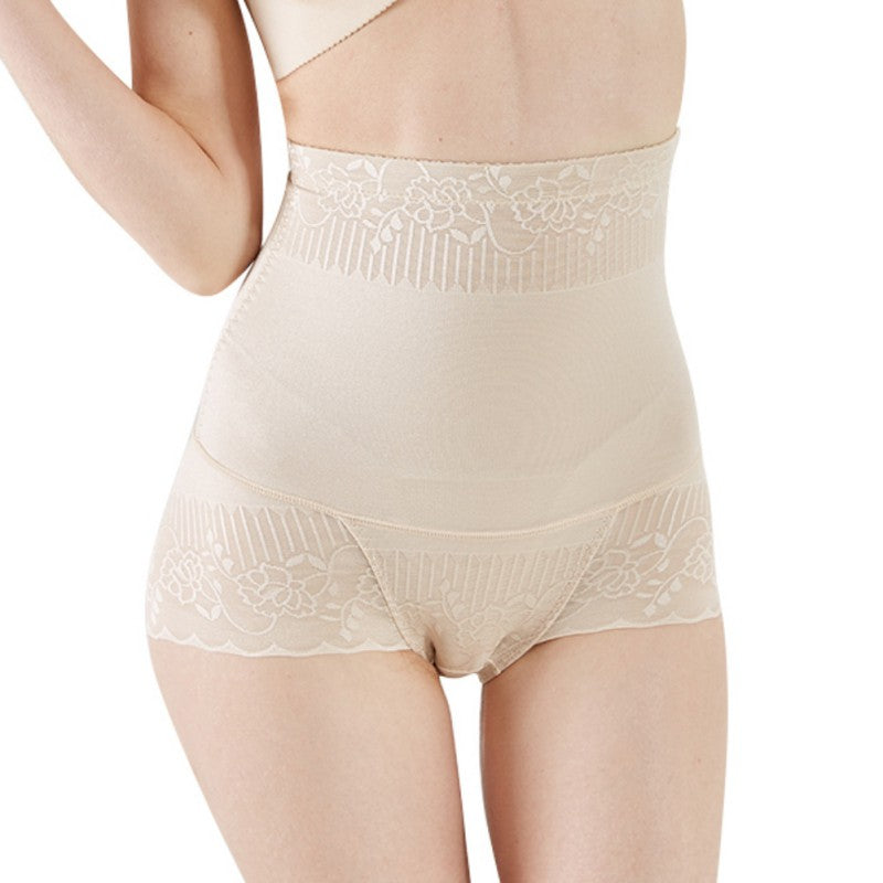 Highwaist Ultra Thin Body Shaper with Lace Detail