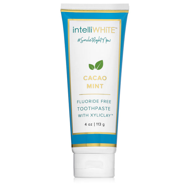 Naturally Crafted Cacao-Mint Fluoride-Free Toothpaste with Xyliclay™