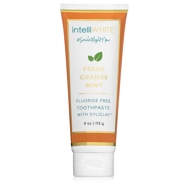 Naturally Crafted Fresh Orange-Mint Fluoride-Free Toothpaste with Xyliclay™