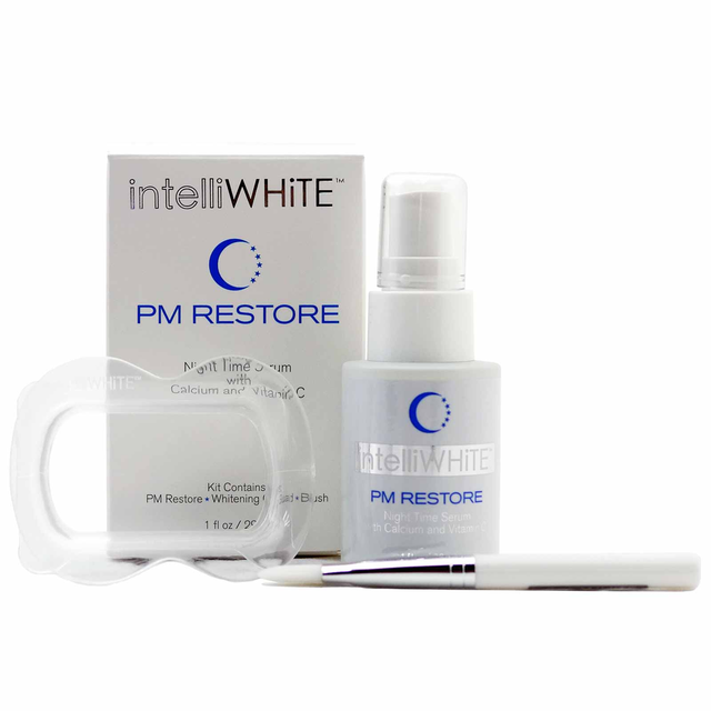 PM Restore Night Serum and Mouth Guard