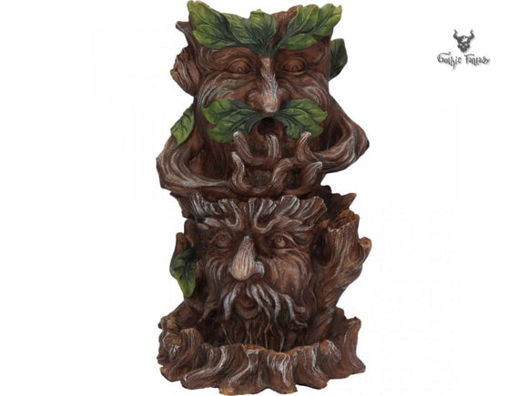 Forest Elders Backflow Incense Burner 19cm Tree Spirits Incense Cone Burner - Gothic Fantasy Store