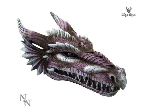 Dragons head incense stick holder