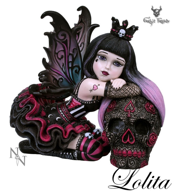 Lolita Little Shadows Gothic Fairy Figurine 12cm - Gothic Fantasy Store