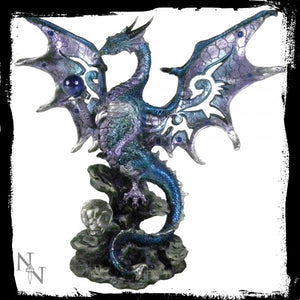 Blue Dragon Protector 20.5cm - Gothic Fantasy Store