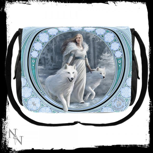 Messenger Bag Winter Guardians (AS) - Gothic Fantasy Store