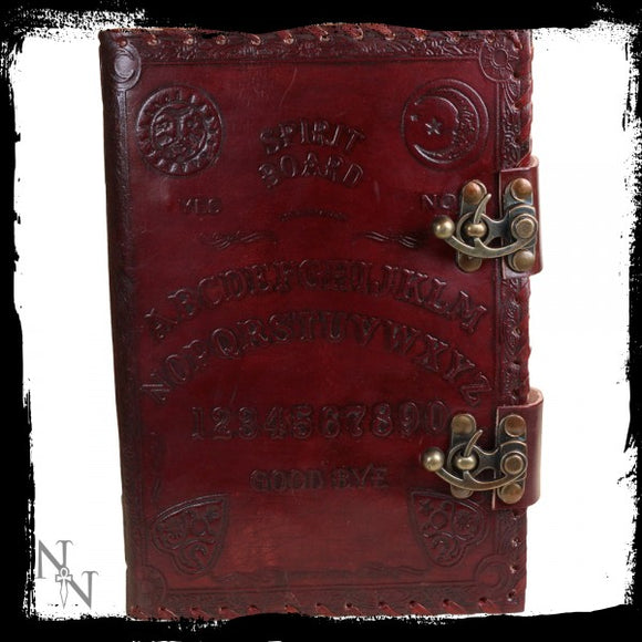 Spirit Board Leather Embossed Journal 25cm - Gothic Fantasy Store