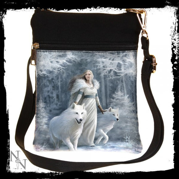 Winter Guardians (AS) Shoulder Bag 23cm - Gothic Fantasy Store