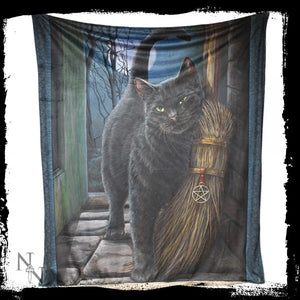 A Brush With Magick Throw (LP) 160cm - Gothic Fantasy Store