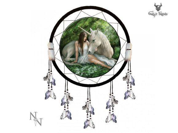 Anne Stoke Unicorn Dreamcatcher (Pure Heart) Large