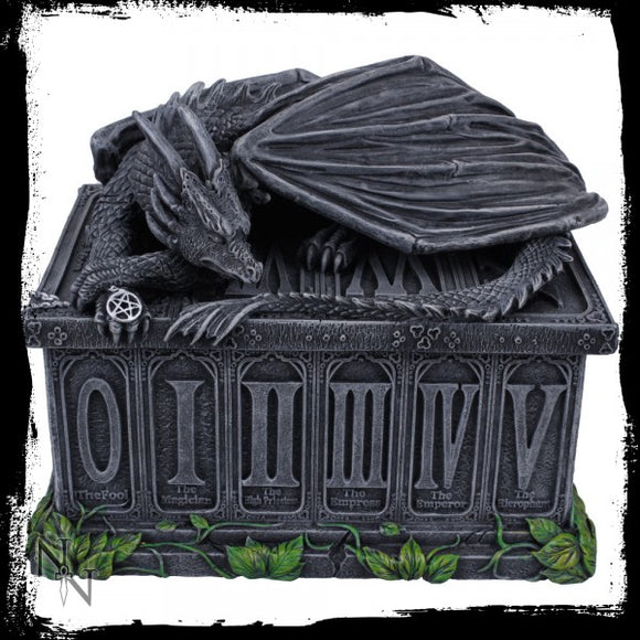 Fortune's Keeper Tarot Box 17cm - Gothic Fantasy Store