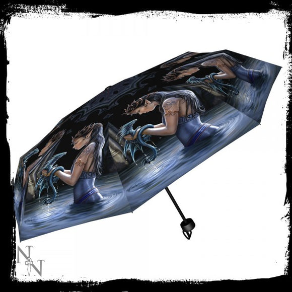 Water Dragon Umbrella (AS) - Gothic Fantasy Store