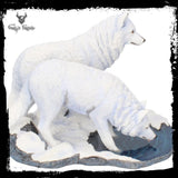 Warriors of Winter Wolves Figurine (LP) 35cm