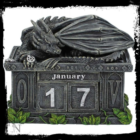 Fortune's Keeper Calendar 10.8cm - Gothic Fantasy Store