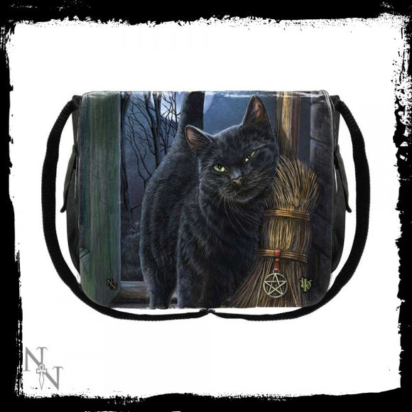 Messenger Bag A Brush With Magick (LP) 40cm - Gothic Fantasy Store