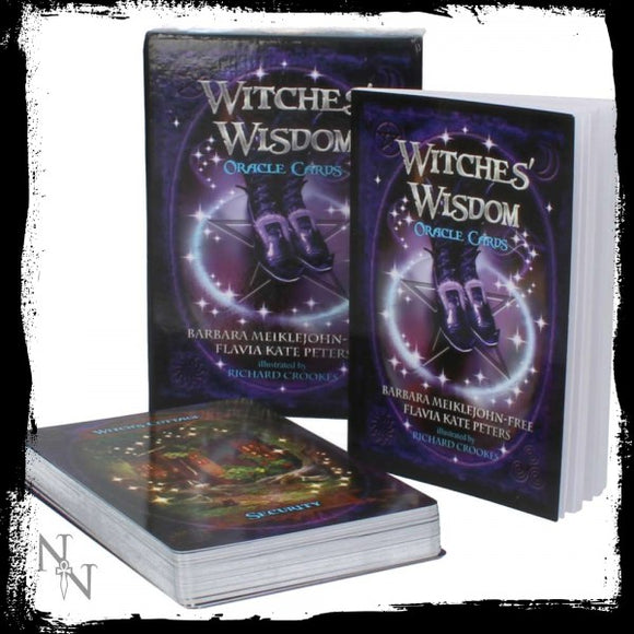 Witches Wisdom Oracle Cards - Gothic Fantasy Store
