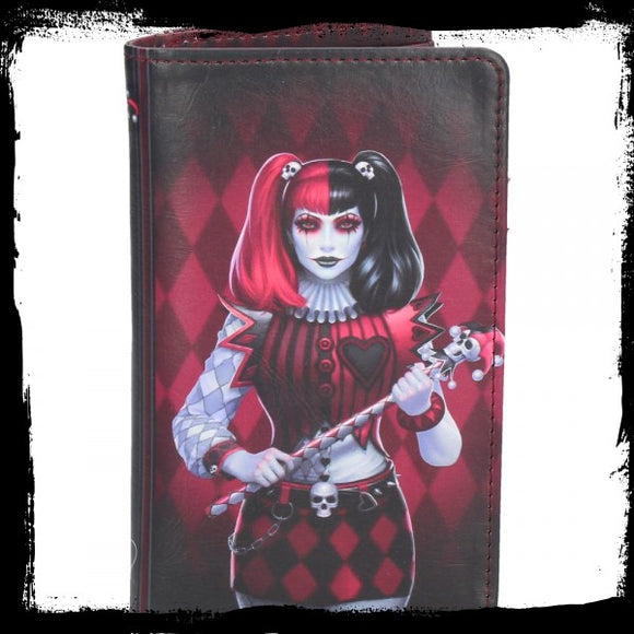 Dark Jester (JR) Purse 14cm - Gothic Fantasy Store