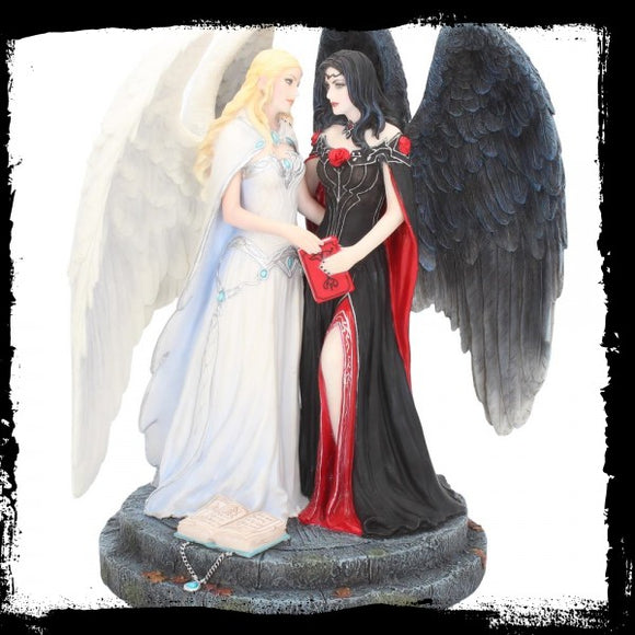 Dark and Light Angels 24.5cm (JR) - Gothic Fantasy Store