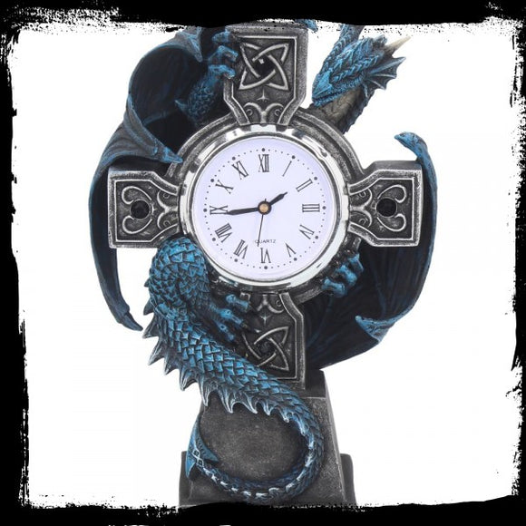 Draco Clock (AS) 17.8cm - Gothic Fantasy Store