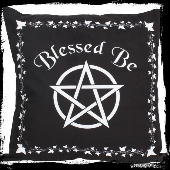 Blessed Be Cushion 40cm - Gothic Fantasy Store