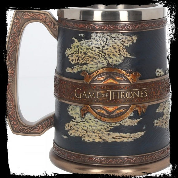 The Seven Kingdoms Tankard 14cm (GOT) - Gothic Fantasy Store