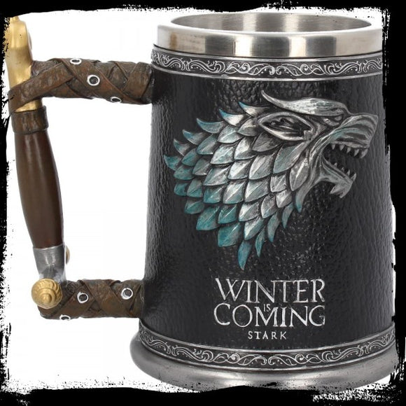 Winter is Coming Tankard 14cm (GOT) - Gothic Fantasy Store