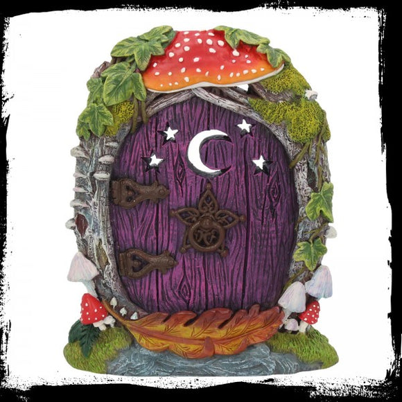 Moon Forest Door 15.5cm Gothic Fantasy