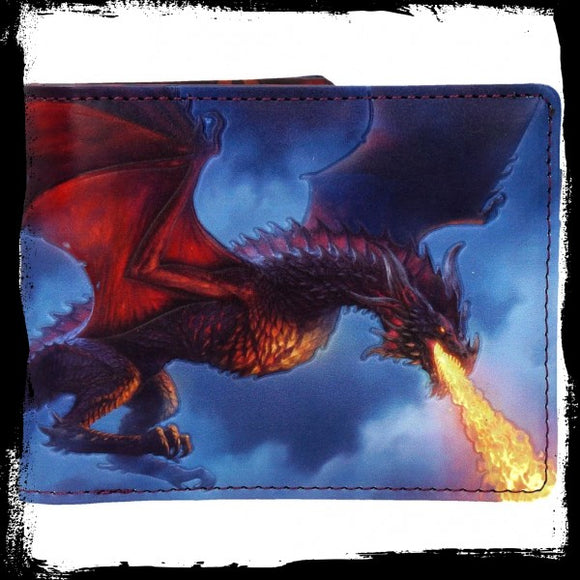 Fire From The Sky Wallet (JR) Gothic Fantasy