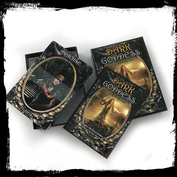 Dark Goddess Oracle Cards - Gothic Fantasy Store